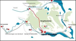 Utflyktsmål i Klimpfjäll